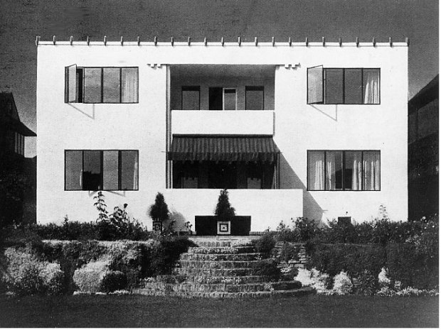'New Ways' designed by Peter Behrens in collaboration with Bassett-Lowke in 1926. One of the first houses of the modern movement in Britain.