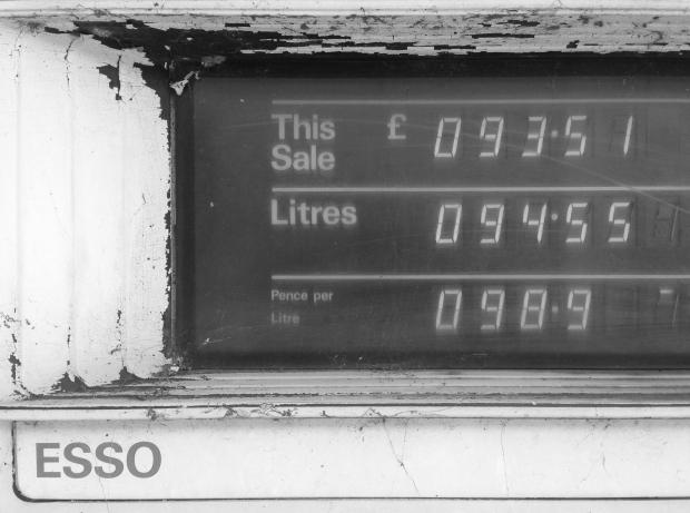 Petrol pump reading