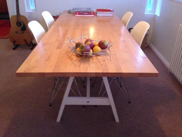 An Ikea table