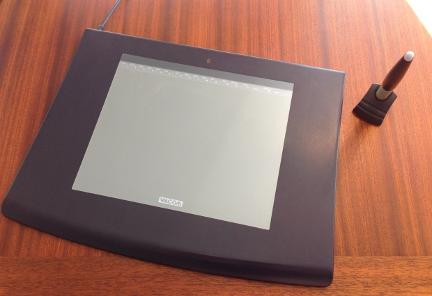 Wacom Graphics Tablet, a high value thing, bought in 20xx