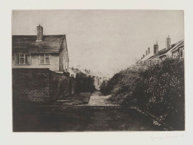 George Shaw's etching